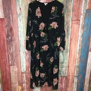 Love five Floral Maxi Dress